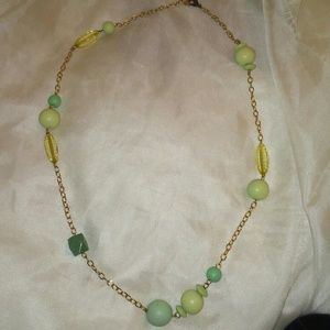 Jewelry - Vintage Wood Bead Necklace